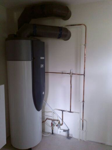SARL Forté Plombier Chauffagiste. Chauffe eau thermodynamique